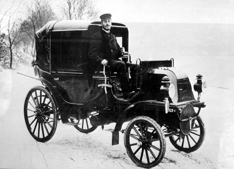 den första bilen