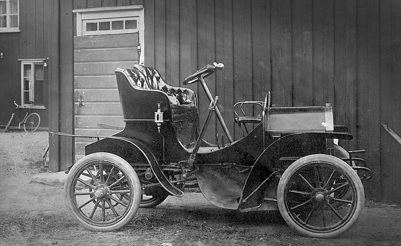 sveriges första bil